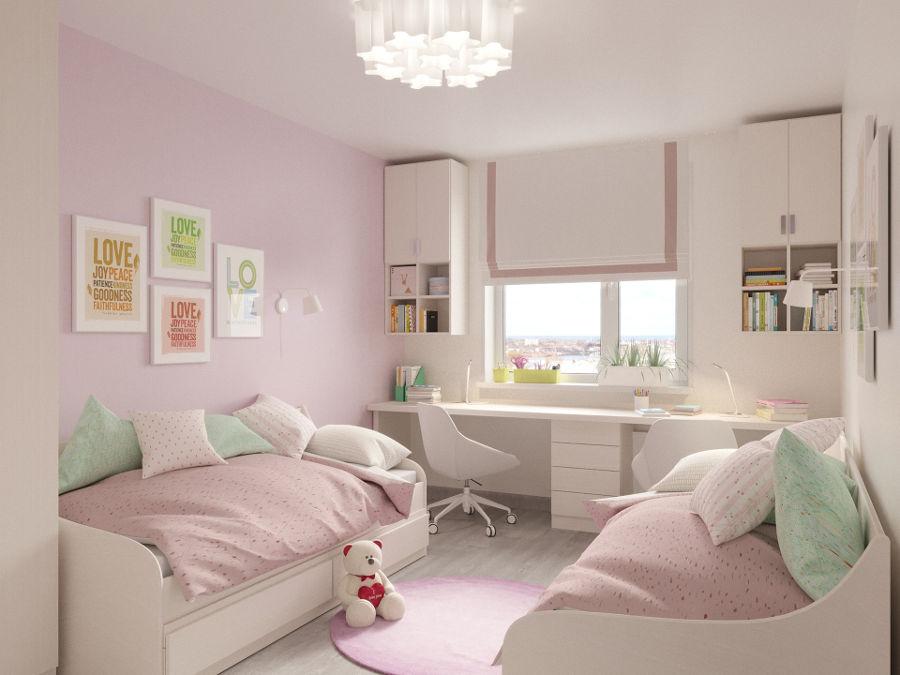 Pokój małej dziewczynki – nie tylko cukierkowe róże