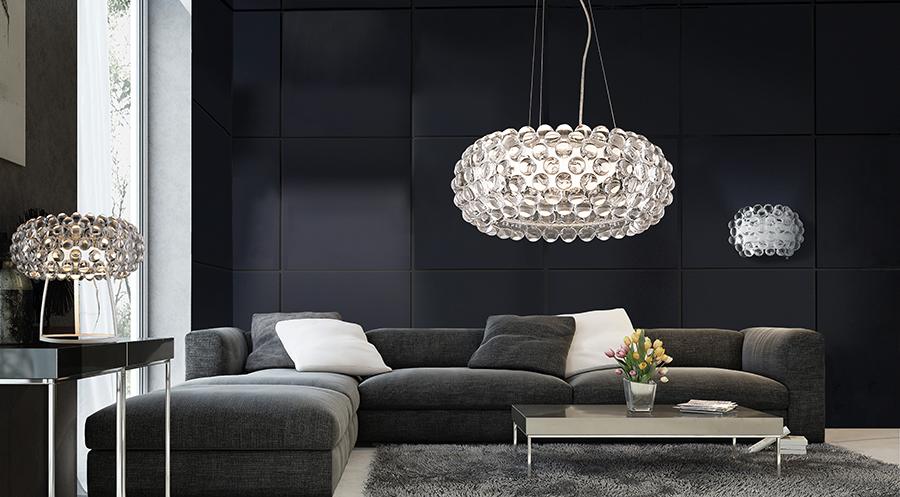 Modne oświetlenie salonu – wielki powrót lamp wiszących