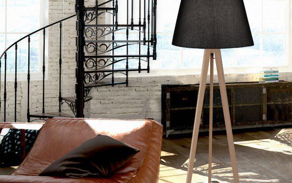 Lampy podłogowe – stylistyka i funkcjonalność
